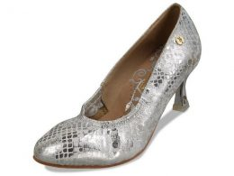 "2.5"" CLOSED TOE LADIES PREMIUM BALLROOM SHOES"