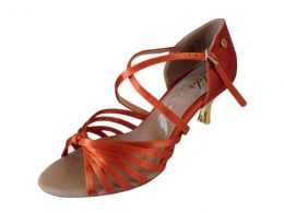 "2.5"" & 3"" DELUXE SATIN LADIES LATIN SHOES"