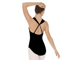EUROTARD ADULT COMFORT HALTER LEOTARD