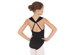 EUROTARD GIRLS COMFORT HALTER LEOTARD