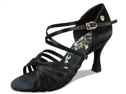 "2.5"" & 3"" DELUXE SATIN LADIES LATIN SHOES (Copy)"